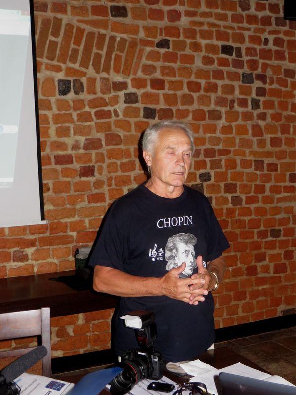 Jurij Tokariew w Zamku Królewskim we Wschowie